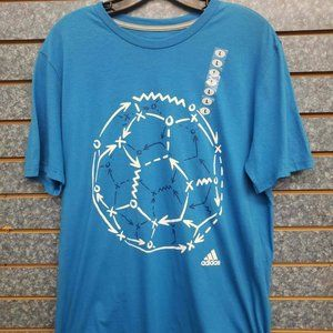 adidas Shirts - Adidas The Go-To Performance Tee in Blue